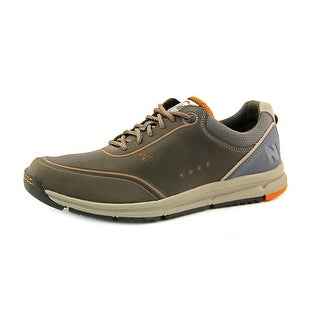 New Balance MW983 2E Round Toe Leather Walking Shoe
