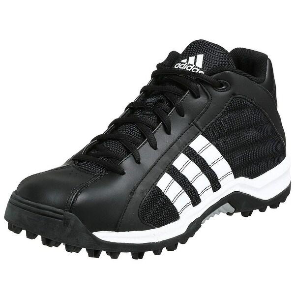 Shop Adidas Mens turf hog lx mid Hight Top Lace Up Soccer