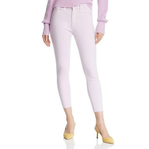 Joe's Womens Icon Colored Skinny Jeans Denim Mid-Rise