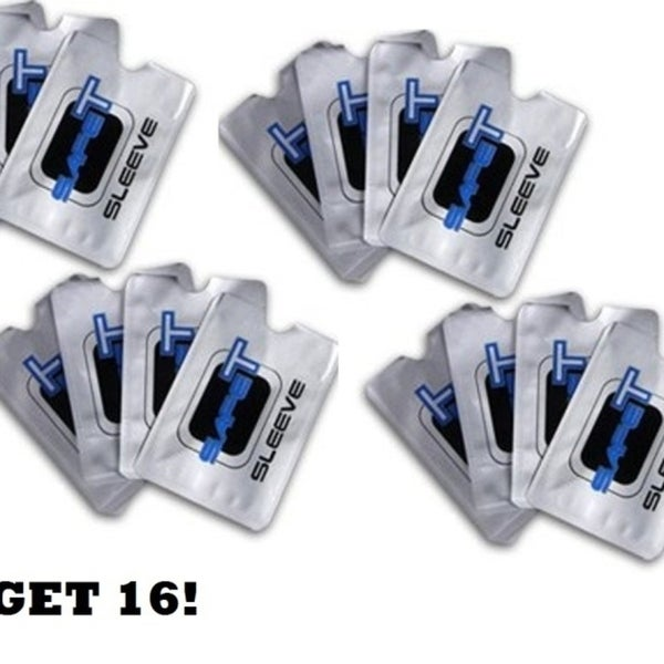 0d946d4b5ad8 Safety Sleeves Rfid Blocking Credit Card & Identity Theft Protection 16Pk