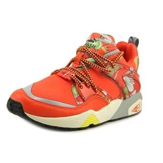 Puma Blaze of Glory WNS X SWASH O Round Toe Canvas Running Shoe