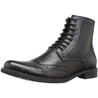 English Laundry Mens Barbican Oxford Boots Leather Wingtip