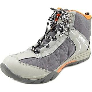 Khombu Hilary Round Toe Leather Hiking Shoe