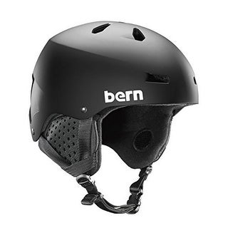 Bern Unisex Macon Eps, Matte Black W/ Black Liner , M