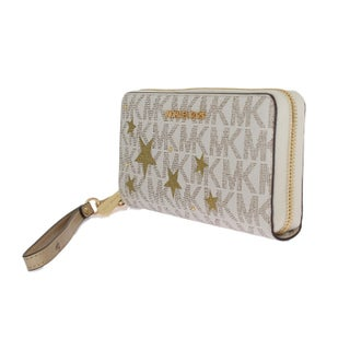 Michael kors White ILLUSTRATIONS Travel Continental Wallet - One size
