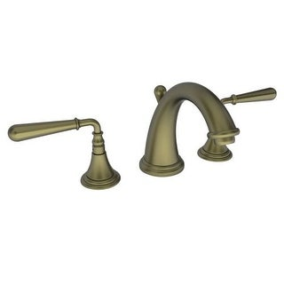 Newport Brass 1740 Bevelle Double Handle Widespread Lavatory Faucet with Metal Lever Handles