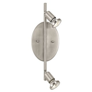 Link to Eglo Buzz 2-Light Matte Nickel Ceiling or Wall Track Light Similar Items in Track Lighting