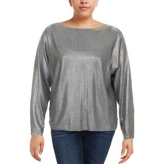 Lauren Ralph Lauren Womens Pullover Sweater Knit Boatneck