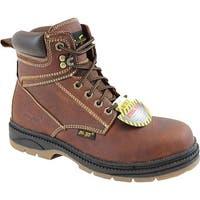 AdTec Men's 9426 Steel Toe Work Boot Reddish Brown