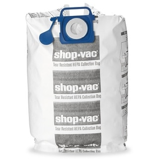 Shop-Vac 9021833 HEPA Tear Resistant Collection Filter Bags