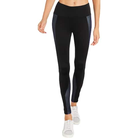 BCBG Max Azria Womens Allegra Athletic Leggings Yoga Fitness