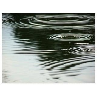 """Rain drop reflection"" Poster Print"