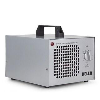 Della 7500mg Commercial Ozone Generator Industrial O3 Air Purifier Deodorizer Sterilizer -Silver