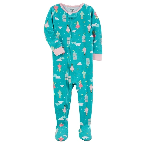 Shop Carter s Little Girls  1-Piece Snug Fit Cotton PJs f957478a3