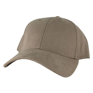 CapRobot Style#307 Unstructured Low Profile Strapback Hat Dad Cap - Khaki
