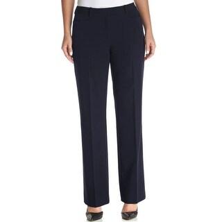 Tommy Hilfiger NEW Navy Blue Women Size 14X31 Dress Stretch Pants