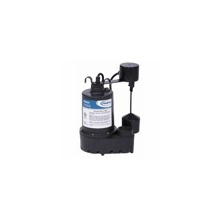 ProFlo PF92341 3/10 HP Cast Iron Submersible Sump Pump with Vertical Switch