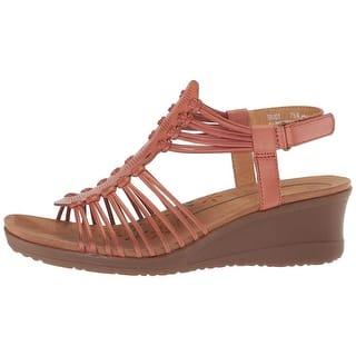 22fac6bdecda Bare Traps Women s Debera Strappy Sandal Mushroom Polyurethane · Quick View