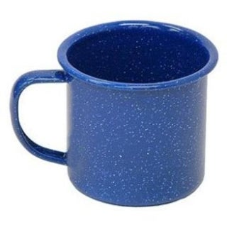 Coleman 2000016419 Enamelware Coffee Mug, Blue, 10 Oz.