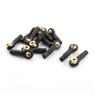 12Pcs Remote Control Car Tie Rod Ends Brass Ball Link 3x3x30mm