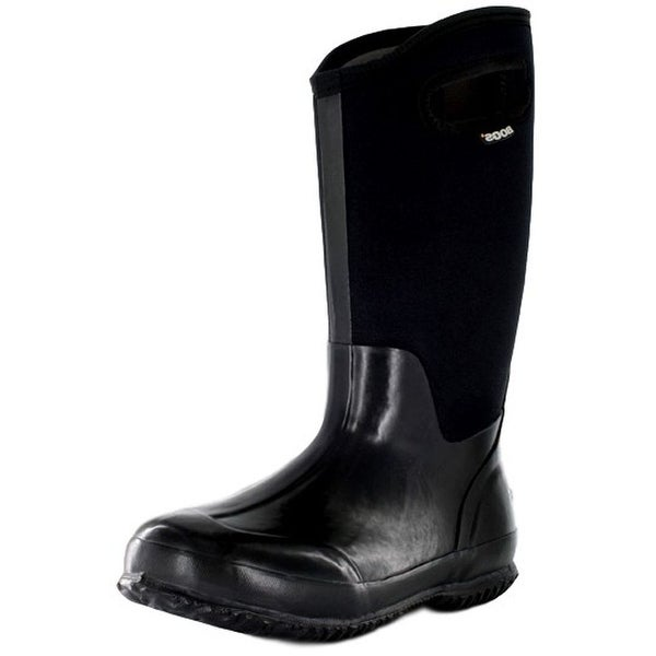Bogs Outdoor Boots Womens Classic High Rubber Waterproof Black