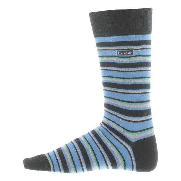Calvin Klein Mens Crew Socks Stripes Comfort - 7-12