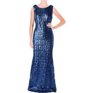 B. Darlin Womens Juniors Sequined Sleeveless Semi-Formal Dress - 13/14