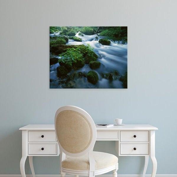 Easy Art Prints Charles Gurche's 'Greer Spring' Premium Canvas Art
