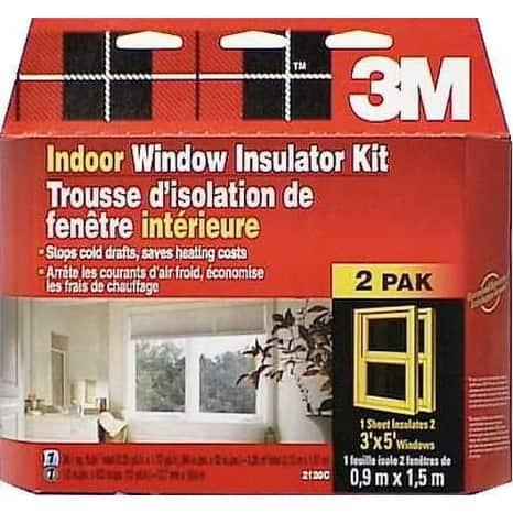 3M 2120W6 Indoor Window Insulation Kit