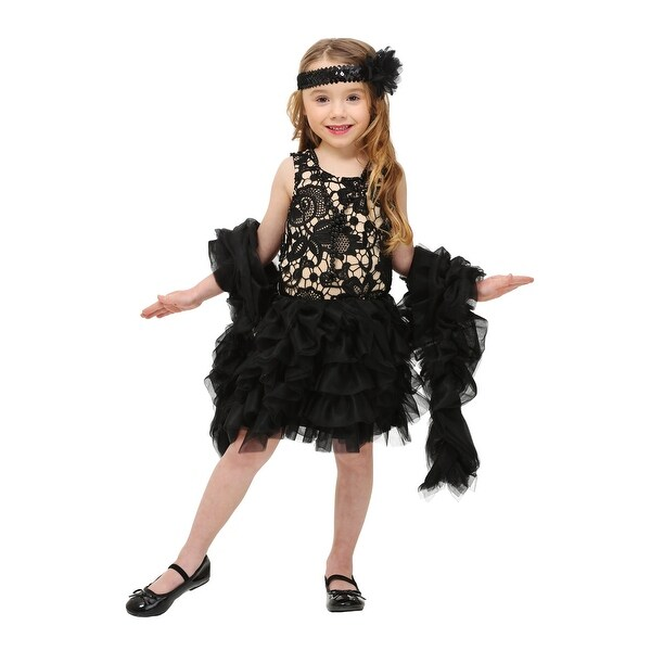 Toddler Dazzling Flapper Costume