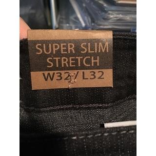 Indigo People Mens Slim Fit Denim Grey Jeans