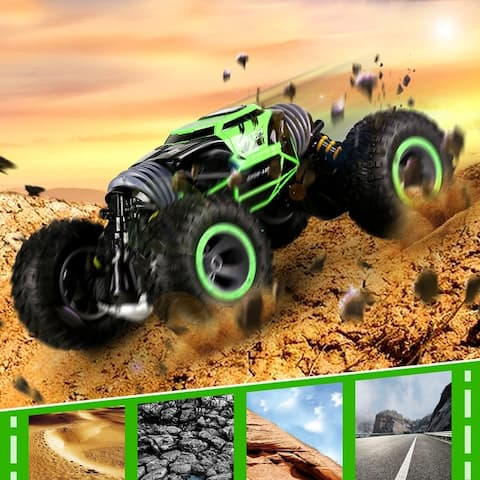 UD2169A 4WD 2.4Ghz Double Sided Stunt RC Car One Key Transform,Multiple Colors