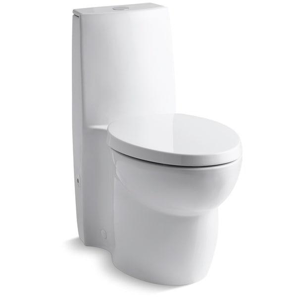 Shop Kohler K 3564 Saile Elongated One Piece Toilet With