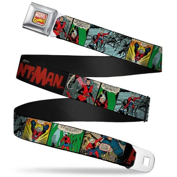 Marvel Comics marvel Comics Logo Full Color Classic Ant Man 6 Comic Scene Seatbelt Belt