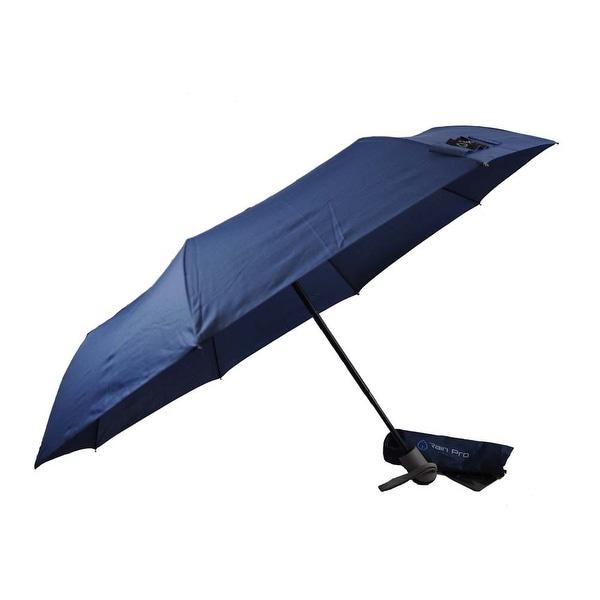 Rain Pro Super Mini Navy Blue Umbrella with Automatic Open Handle