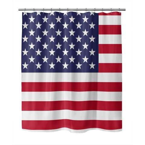 AMERICA Shower Curtain By Kavka Designs