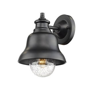 """Millennium Lighting 2510 Single Light 10"""" High Outdoor Wall Sconce with Glass Shade"""