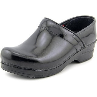 Sanita Smart Step Prof Mila Women  Round Toe Patent Leather  Work Shoe