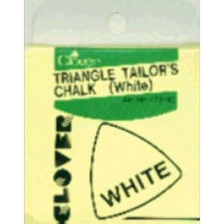 Triangle Tailor's Chalk-White - White