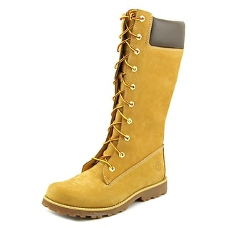 Timberland Asphalt Trail Classic Tall Round Toe Leather Mid Calf Boot
