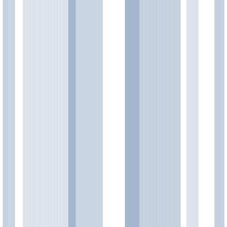Brewster Awning Stripe Peel and Stick Wallpaper Kids Awning Stripe Wall Pops Wal