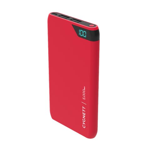 Cygnett Chargeup Boost 5,000 mAh- Red