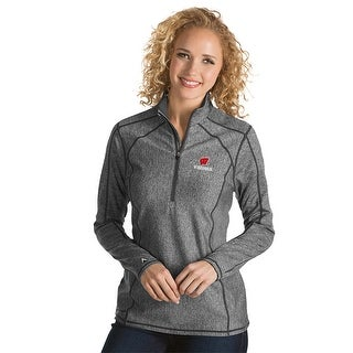 University of Wisconsin Ladies Tempo 1/4 Zip Pullover