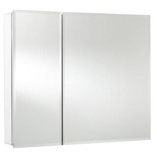 "Jacuzzi PD44000 26"" H x 30"" W x 5-1/4"" D Double Door Medicine Cabinet"