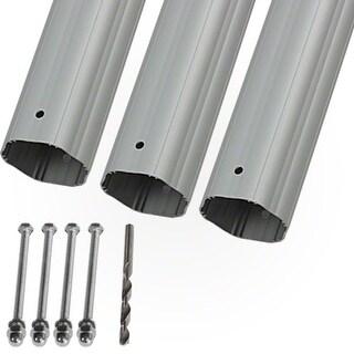 "HydroTools Hexagonal Aluminum Solar Cover Reel Tube Kit - 3"" x 12'"