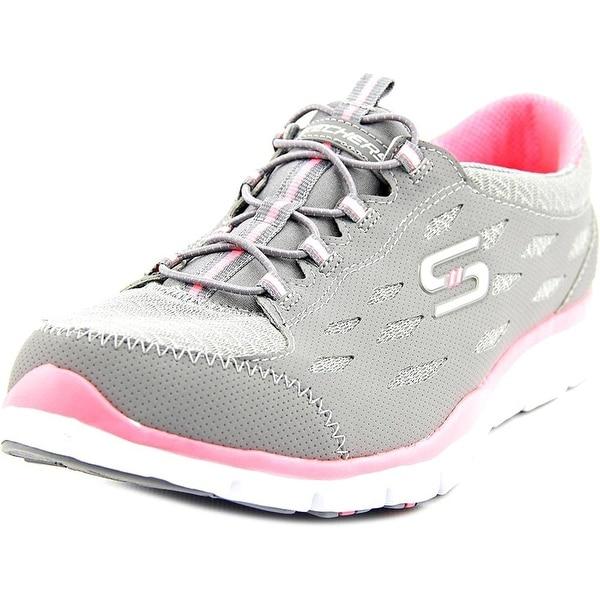 d21162288193 Shop SKECHERS Women s Gratis - Full-Circle Gray Pink Sneaker - Free ...