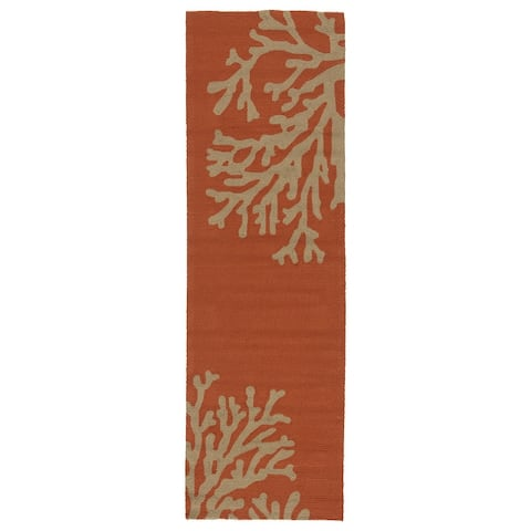 Saint Michaels Indoor/ Outdoor Floral Area Rug by Havenside Home
