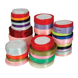 Stanislaus Woven Edge Ribbon Assortment, 640 Yards, 2 Pounds