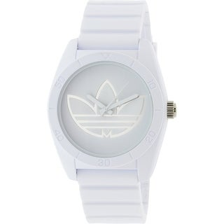 Adidas Santiago ADH3198 White Silicone Japanese Quartz Sport Watch