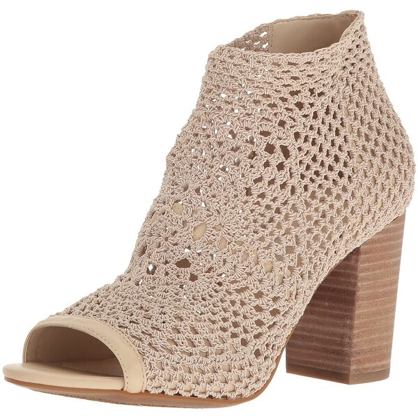 Jessica Simpson Womens Rianne Open Toe Ankle Fashion Boots